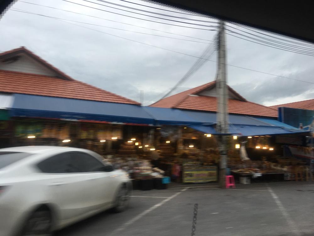 Chon buri sea market