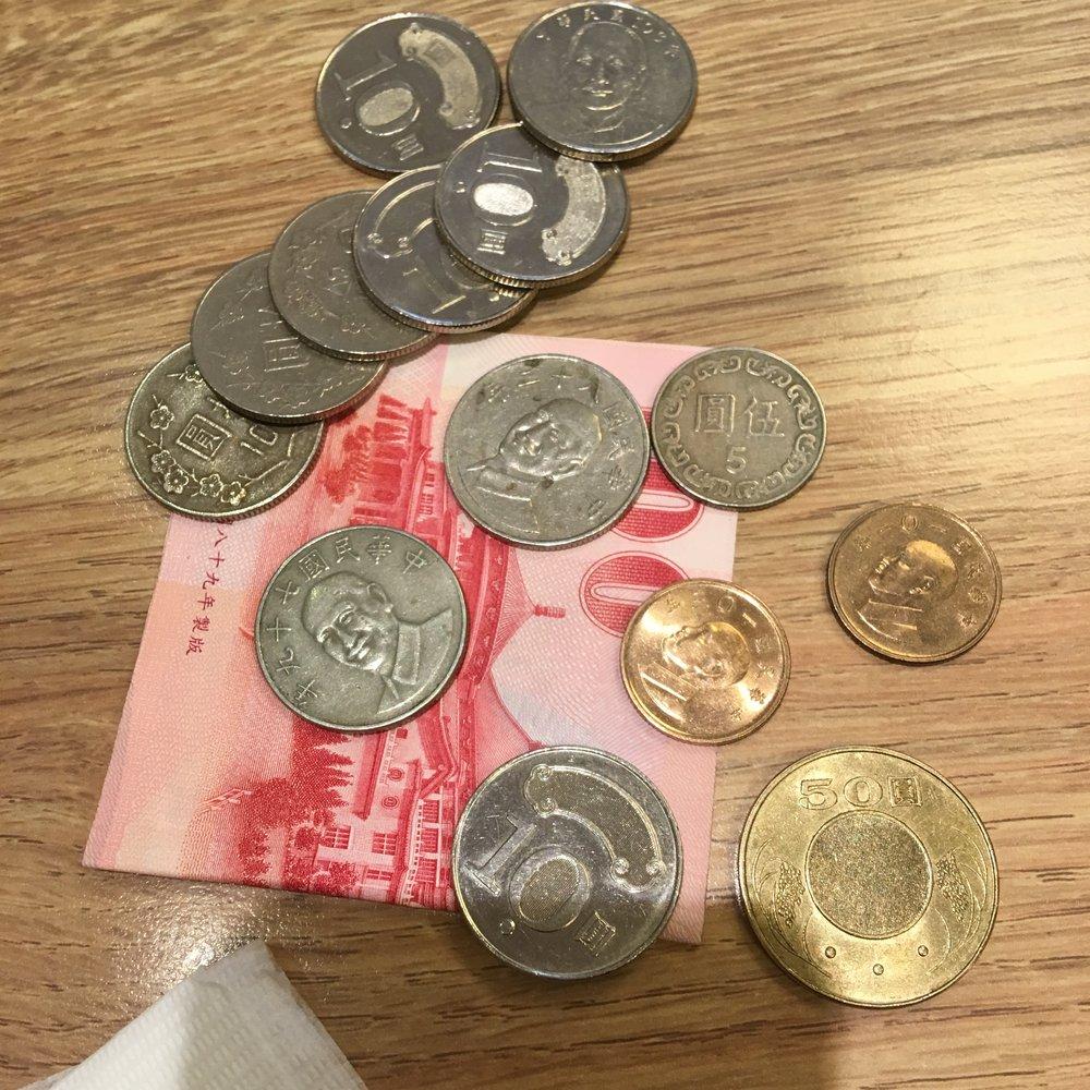 NTD Taiwan Currency