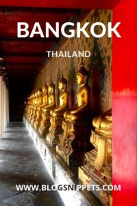 TRAVELING BANGKOK THAILAND IN 2 DAYS ITINERARY