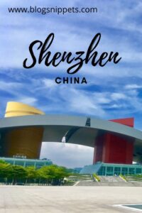 Shenzhen China quick itinerary for solo traveler